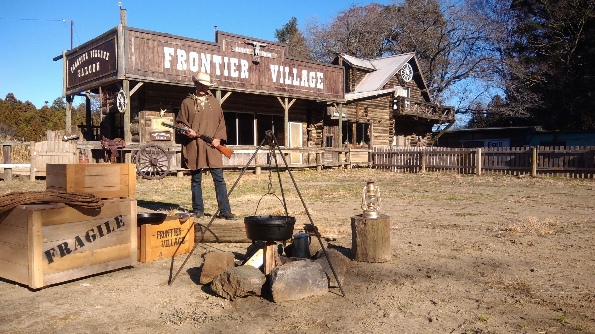 ウエスタンスタイルの牧場をまるまる貸しきってドローンの撮影など ( 屋内 + 屋外 )(フロンティアビレッジ) の写真0