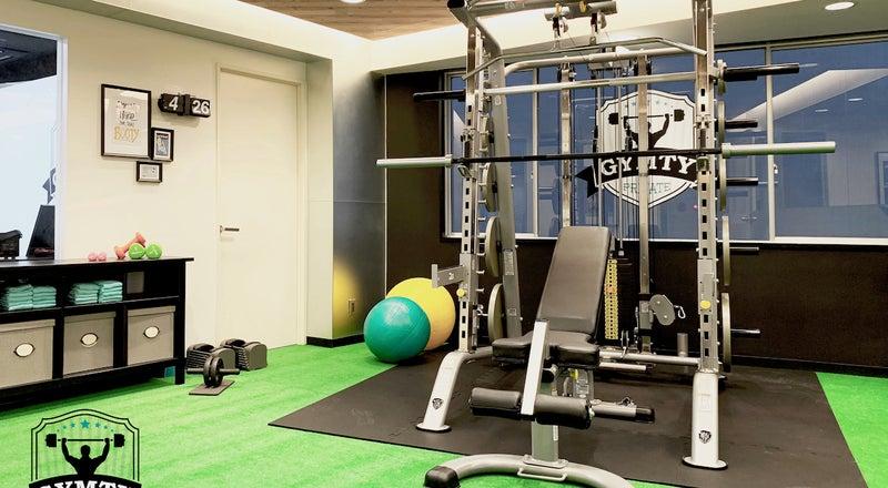 【西梅田駅徒歩3分】プライベートスポーツジムスペース GYMTY ジムティ トレーニングジム