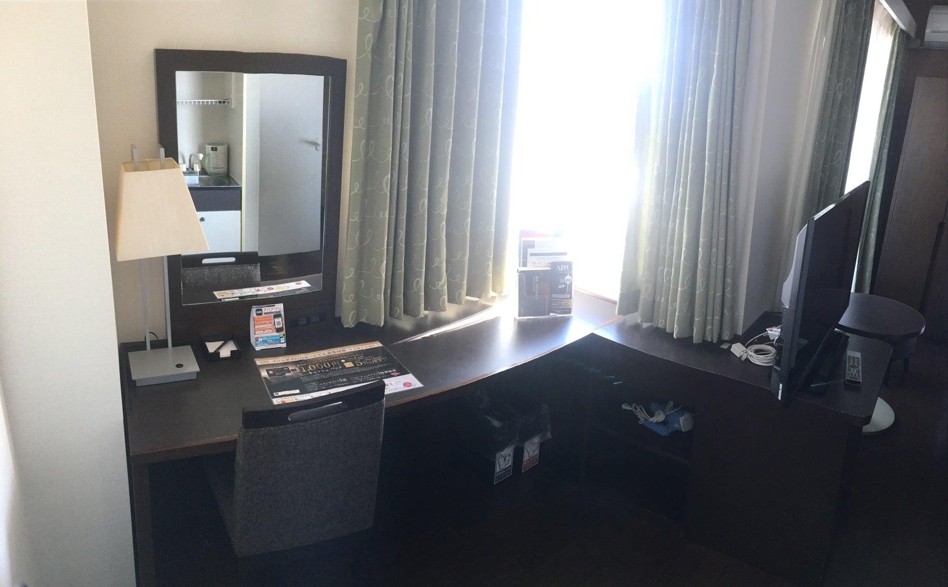 【ホテル客室】を個室オフィスとしてご利用いただけます。(静岡県富士市ホテル。コンビニ・レストラン・大駐車場(120台)あり。) の写真0