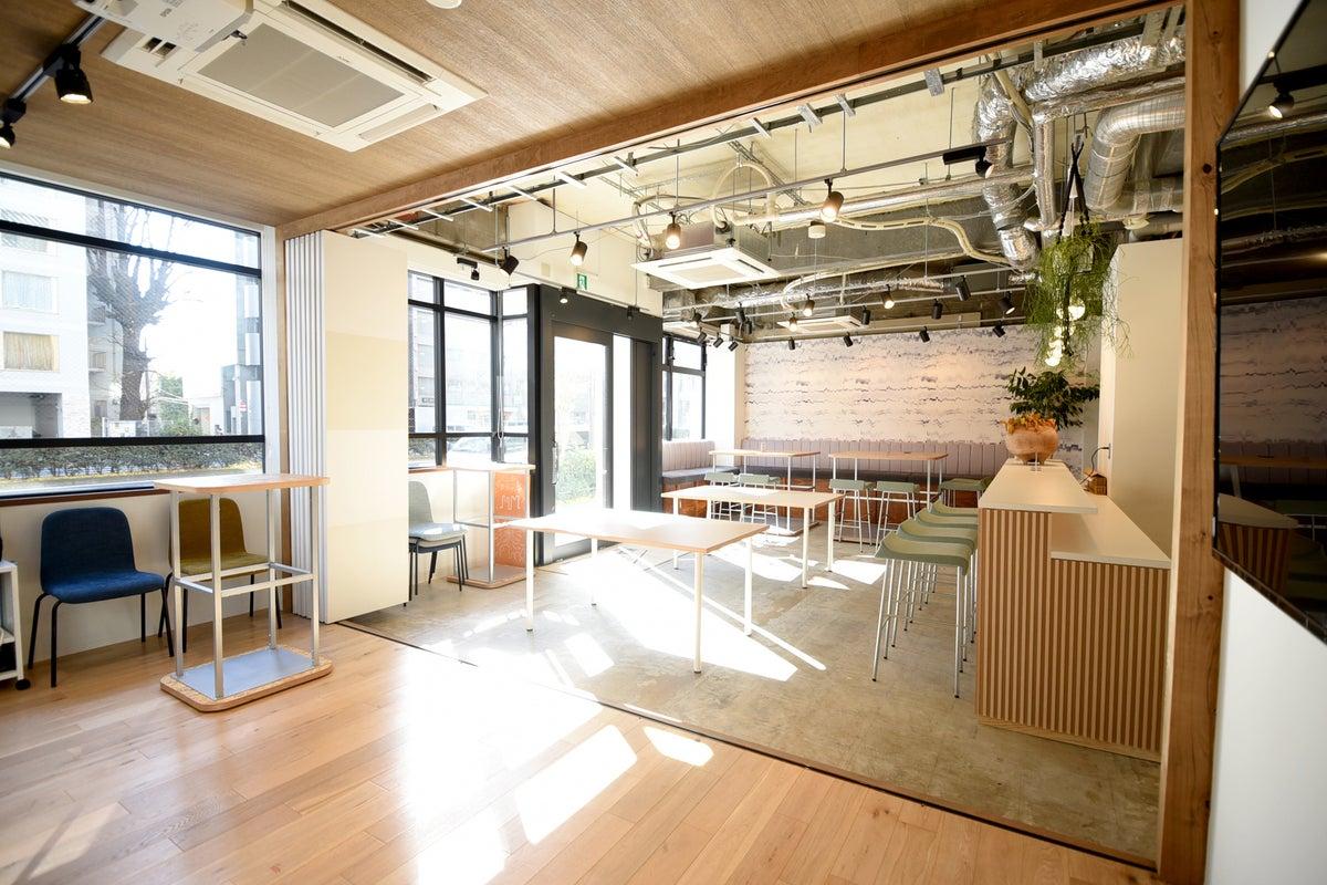 【新宿・1階+屋上・甲州街道沿い!】キッチン・音響設備付き貸切スペース!パーティー、会議、お料理会、撮影などに♪ の写真