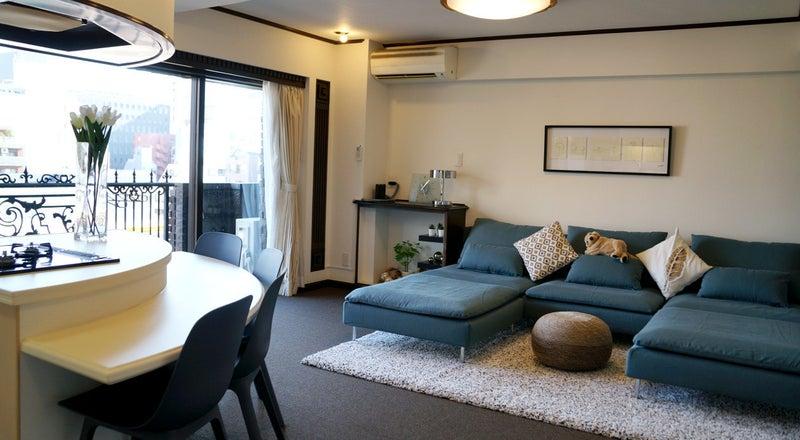 fan kitchen(ハウススタジオ)元有名人の部屋 高級ホテルと同等以上にメンテナンスでキレイ&安心 日本に1台黒い猫足バス