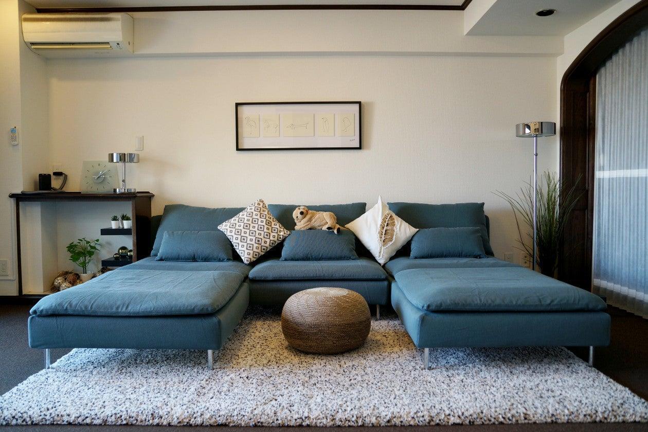 fan kitchen ハウススタジオ 目前にビルはなく明るいお部屋 最高級poggen pohlキッチンとKORLER猫足バス の写真