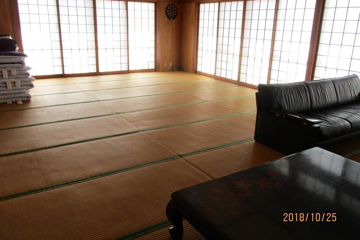 オーシャンビュー和室。広々27畳。修学旅行みたい! の写真