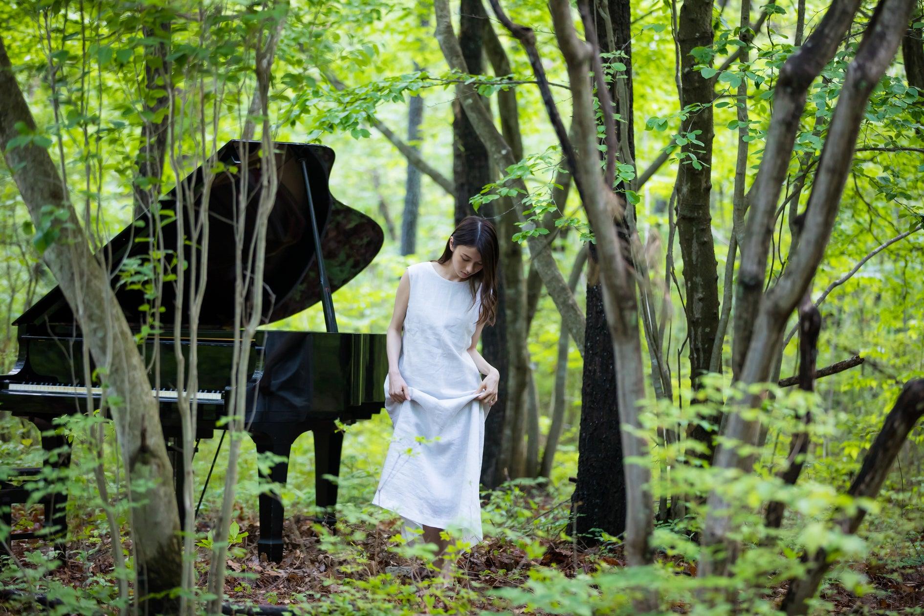 《都心から送迎可》森とグランドピアノ「88」CMで撮影場所として使用経歴有(《VOGUE/NHKで使用》《2000冊の洋書とアンティーク家具が揃う「EN」》) の写真0