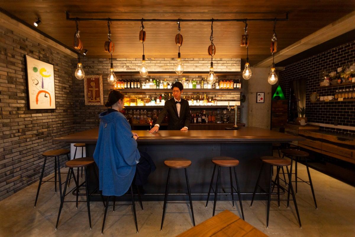 福山駅北口徒歩3分のアンカーホテルバー。撮影・パーティー・会議などに最適!(WIFI、Alexa完備) の写真