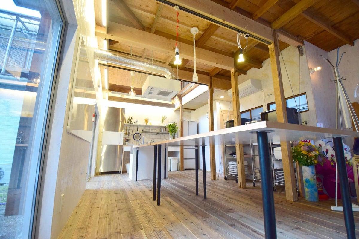 【草加駅徒歩4分】築50年のアパートをリノベしました!キッチン付き!ホームパーティーや料理教室、カルチャー教室に! の写真