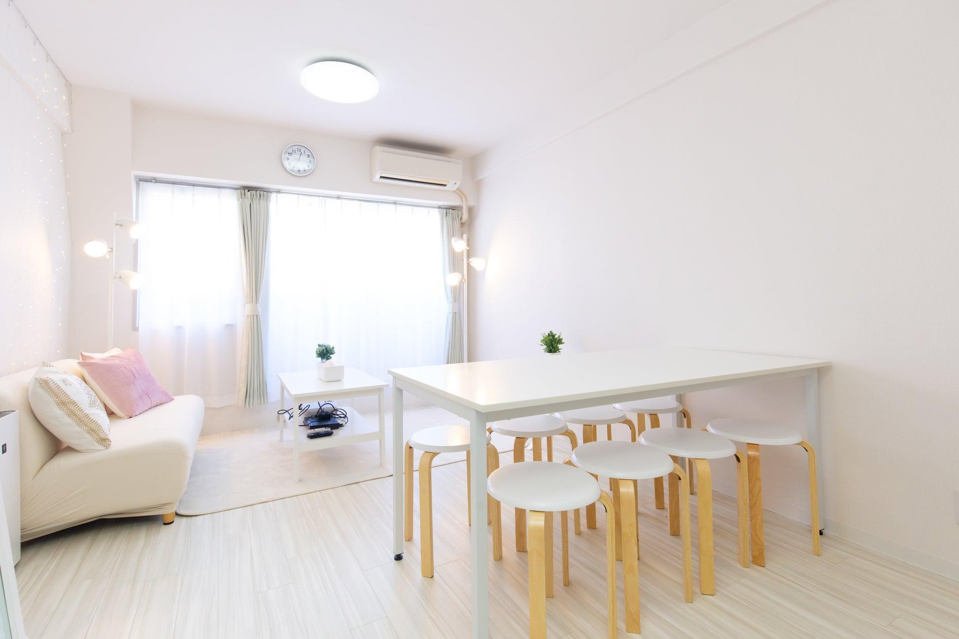 TS00116【渋谷】真っ白なクリエイティブ空間♪ワークショップ/パーティー/女子会/プロジェクター/撮影/24h の写真