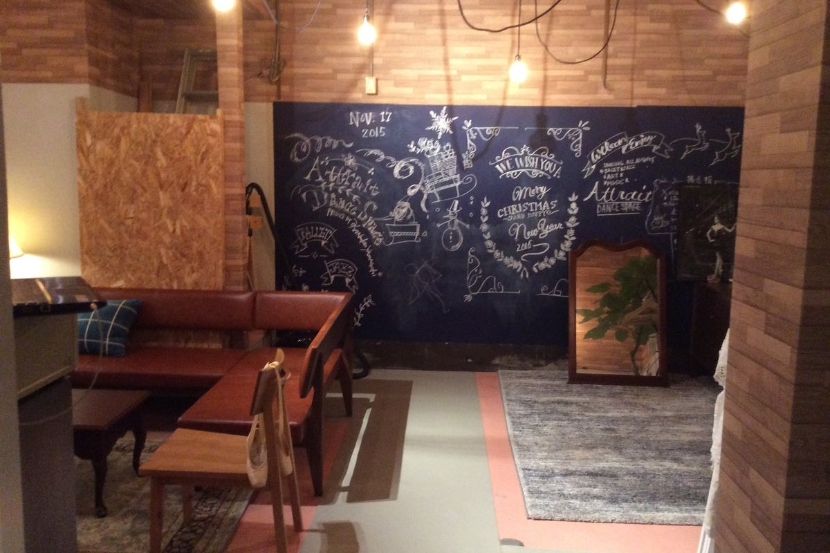 おしゃれで綺麗なスタジオ!ダンス練習、撮影、ママ会、会議利用などに! の写真