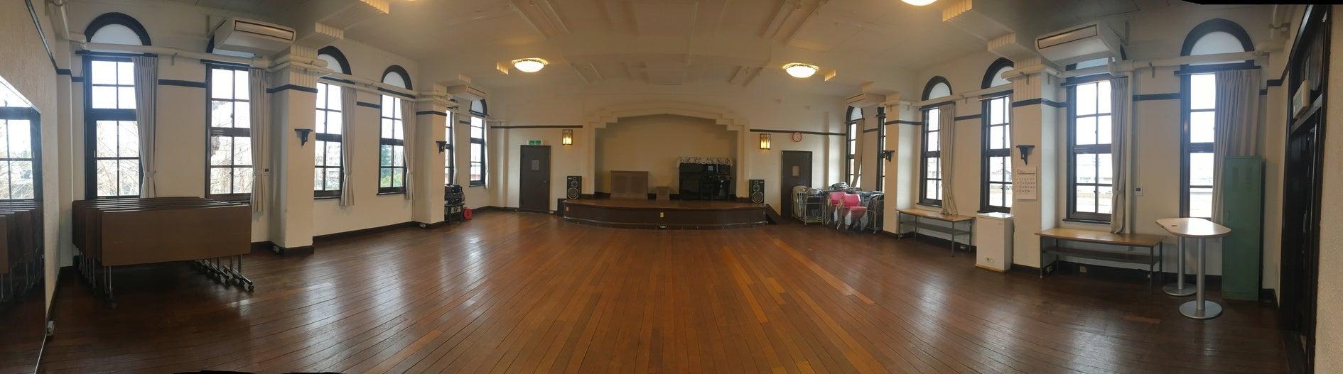 3Fホール【京都】戦前の雰囲気をそのまま残した空間で結婚式などのイベントや撮影をしませんか(紫明会館) の写真0