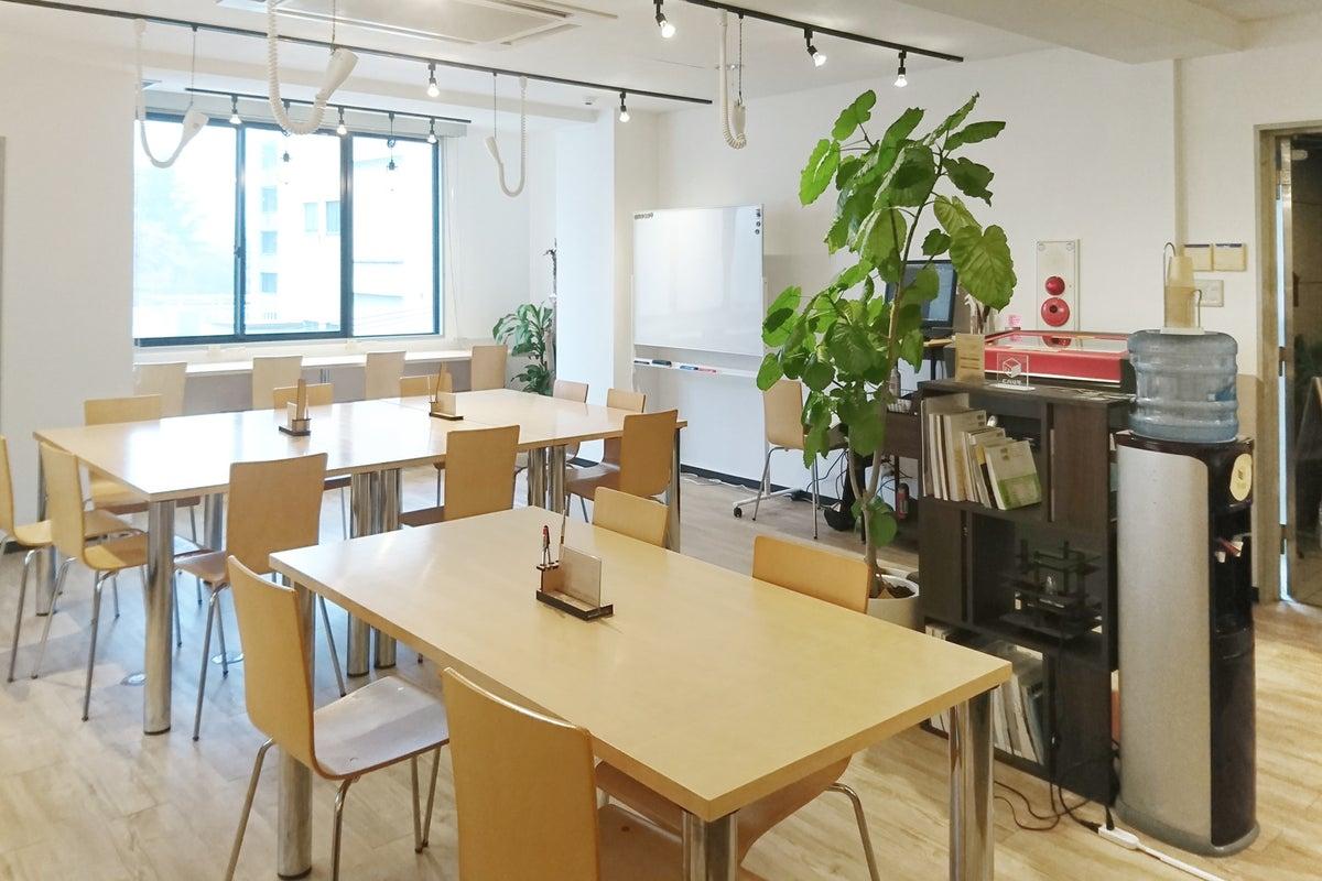 【広島市中心部】イベント、ハッカソン、勉強会、会議利用などに! 紙屋町のコワーキングスペース の写真
