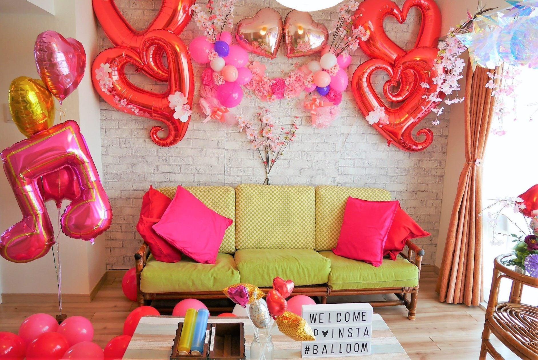 【関内駅徒歩3分】風船でデコレーションされたスペース♪現在お花見バージョン♪インドア花見♪パーティーにオススメ♪キッチン付 の写真
