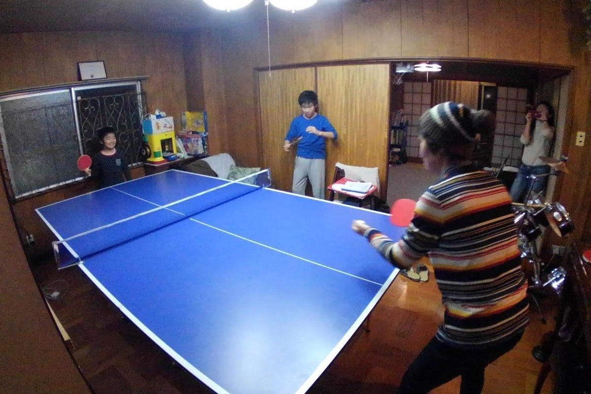 ベイダー同居!卓球台・ミニドラム・キッチン付!女子会・オフ会・コスプレに の写真