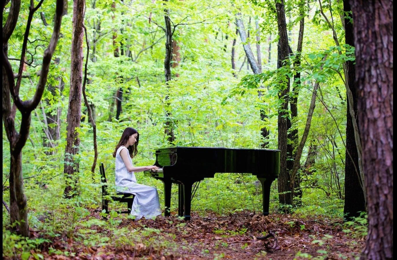 《都心から送迎可》森とグランドピアノ「88」CMで撮影場所として使用経歴有