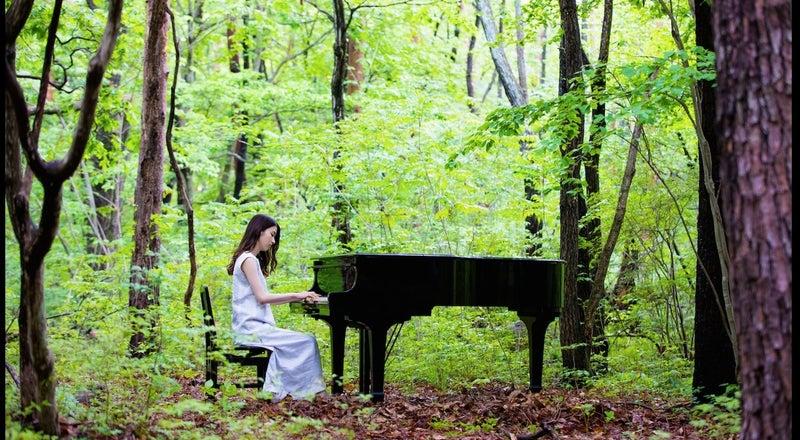 《都心から送迎可》森とグランドピアノ「88」