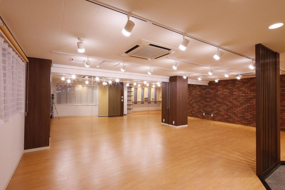 T-MS【円町駅 徒歩9分】広々53.65㎡の一面鏡張り ヨガ・ダンス・教室・パーティーに! の写真