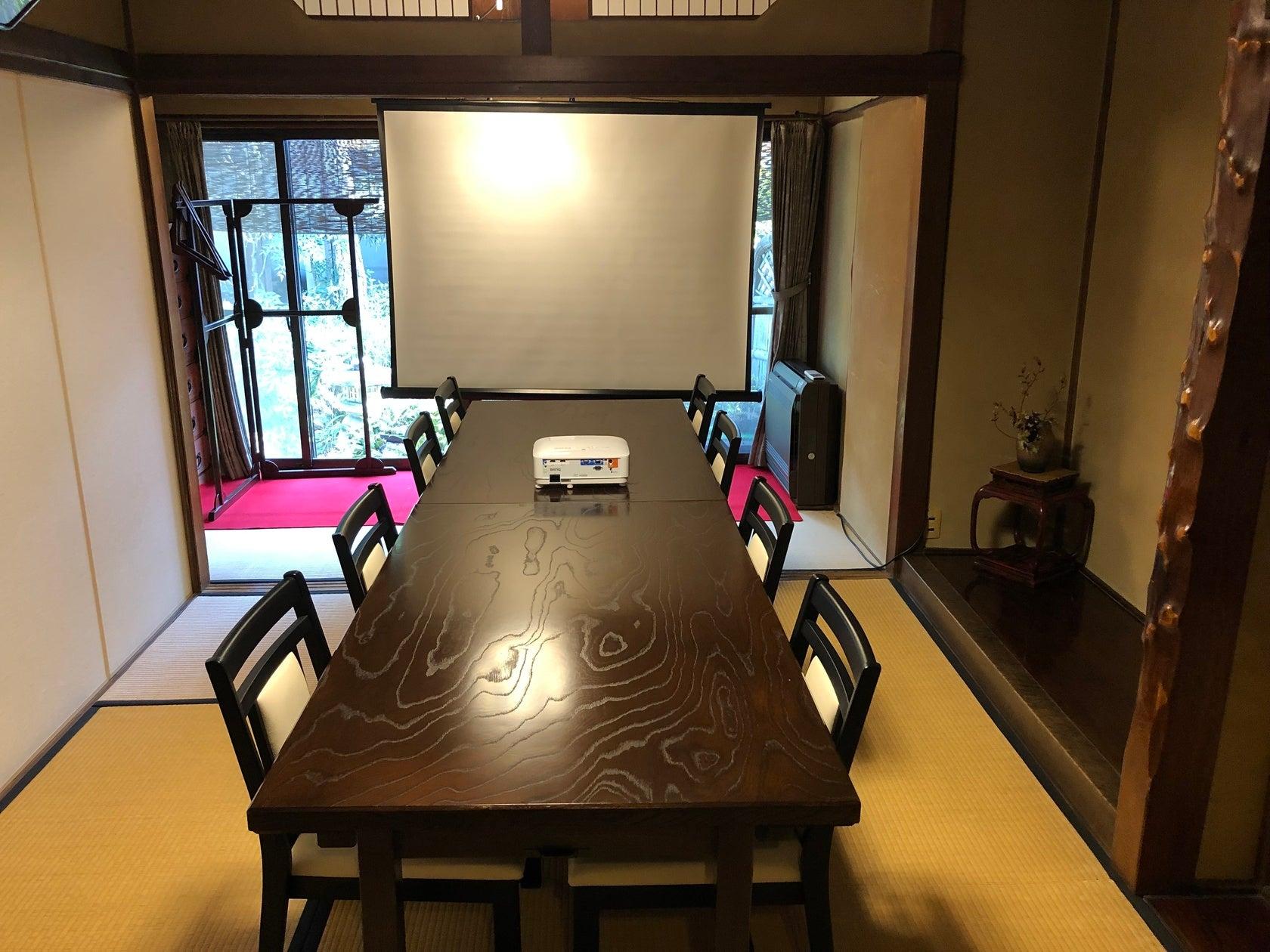 150年の歴史のある料亭の一室!会議、撮影会、お稽古、展示会などに! の写真