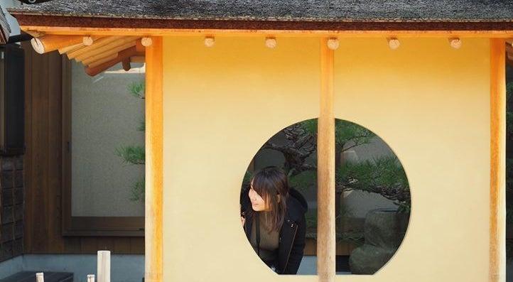 桧皮葺と日本庭園のあるすっきりとした和空間!写真撮影・ロケに!