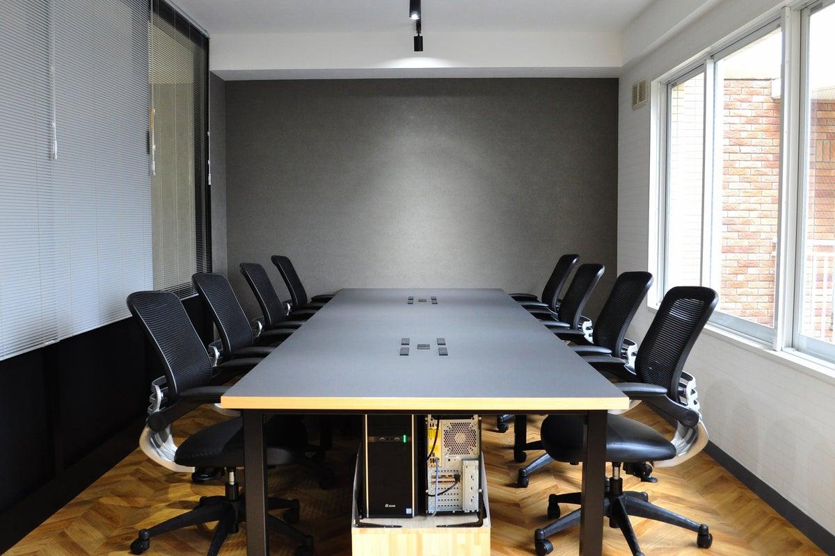 法人ネット回線/プロジェクター無料/フリードリンク/会議、ワークショップ、面接利用。テレビ会議、テレワーク最適 の写真