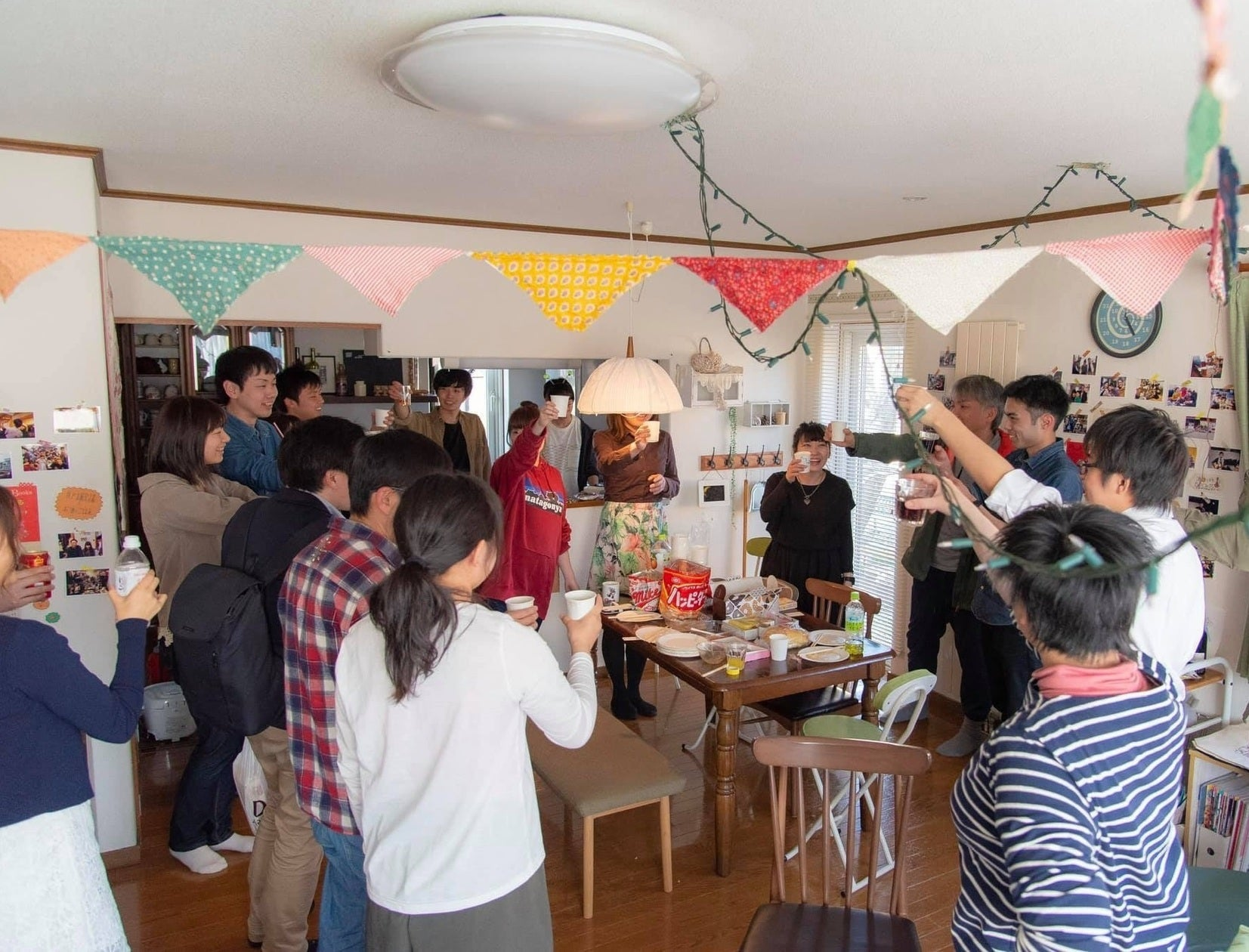 『memori貸別荘』でパーティー、撮影等♪キッチン+リビングダイニング+和室を使用できます♪