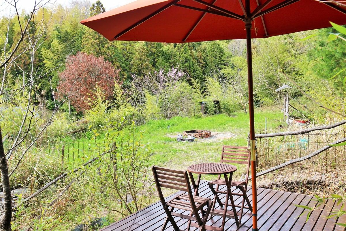 古民家の庭を貸切り☆キャンプ、焚火、BBQ、屋外パーティーなど! の写真