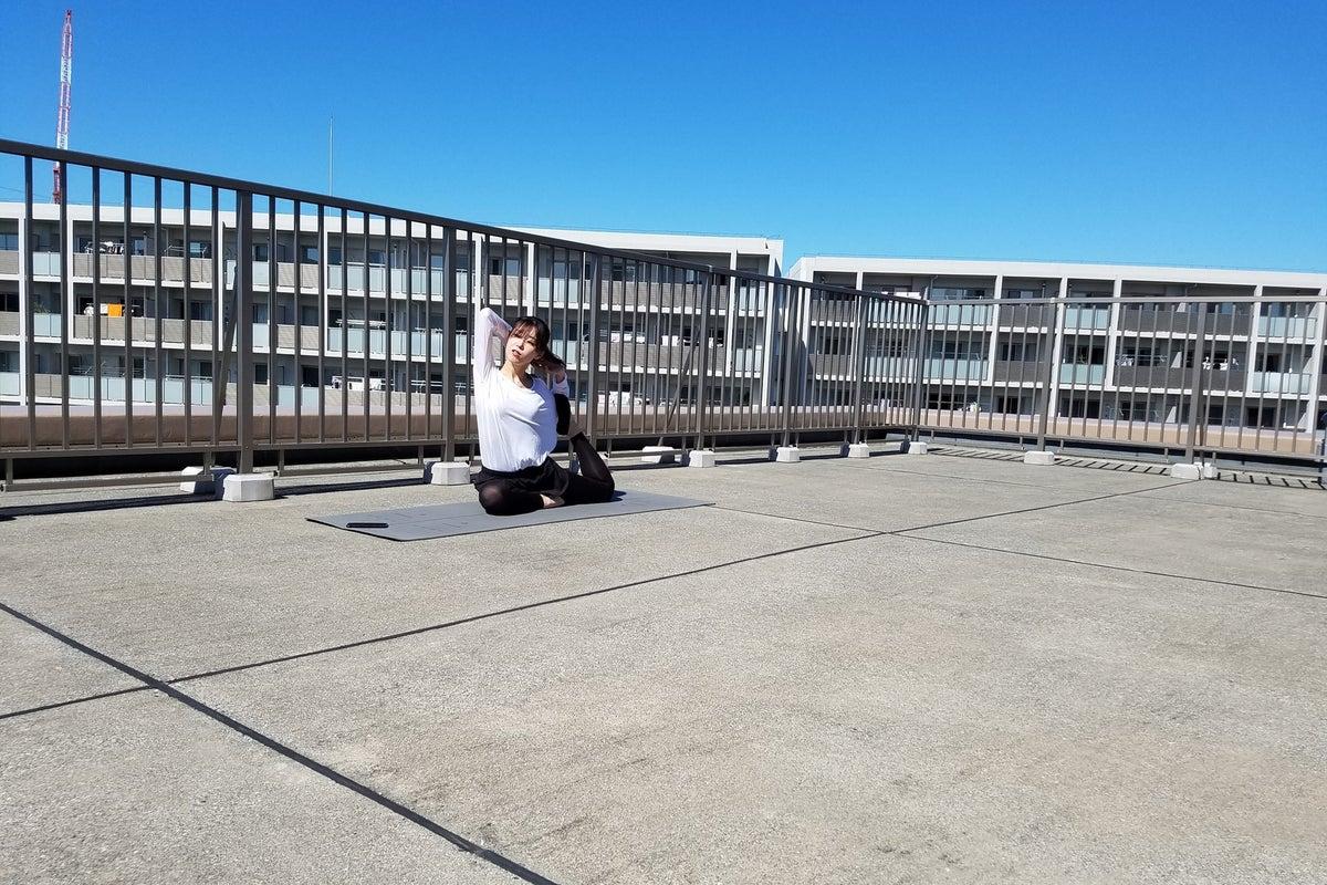 バルコニーとトレーニングルーム の写真