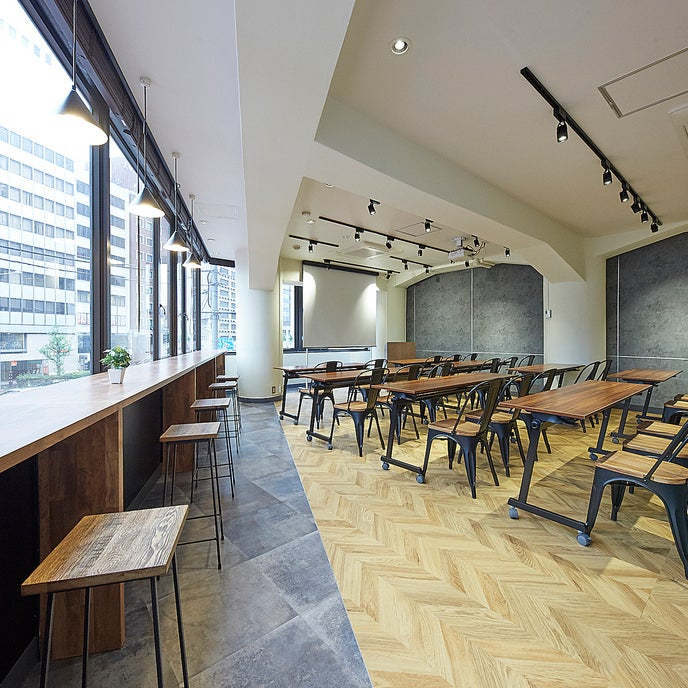 「TIME SHARING渋谷宮益坂」は、おしゃれでリーズナブルな貸し会議室・セミナー会場です。