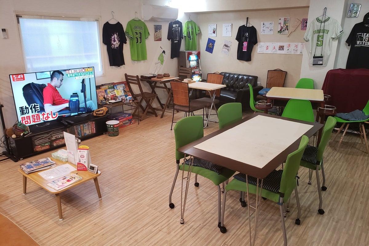 ふだんはボードゲームカフェ&スポーツバー。気の合う人たちとの居心地いい空間を提供します。 の写真