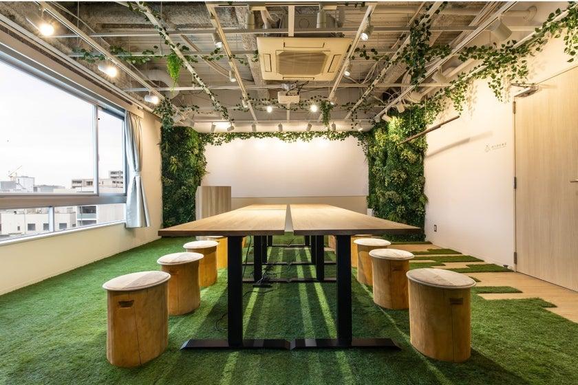 森の中をイメージしたマイナスイオンが溢れる空間を提供します([森の会議室]森の中をイメージしたマイナスイオンが溢れる空間を提供します) の写真0