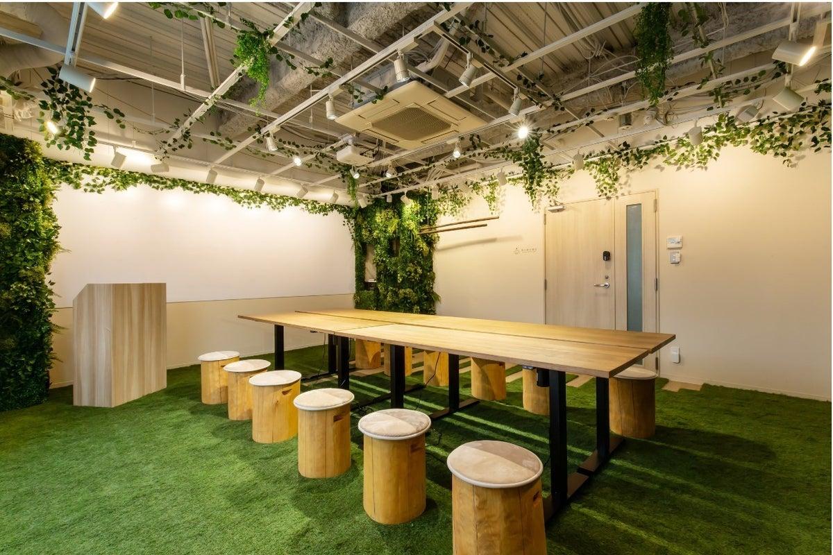 【森の会議室】久屋大通駅より徒歩2分!森の中をイメージしたマイナスイオンが溢れる空間 の写真