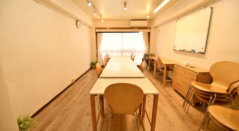 {スペースコナ銀座3階}リニューアルopne⭐️室内は自然素材の珪藻土。教室、セミナー、演奏レッスン、会議などに!