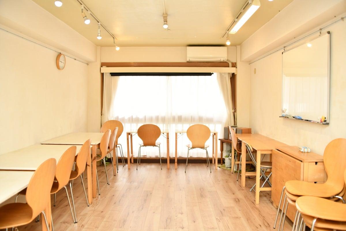 {スペースコナ銀座3階}リニューアルopne⭐️室内は自然素材の珪藻土。教室、セミナー、演奏レッスン、会議などに! の写真