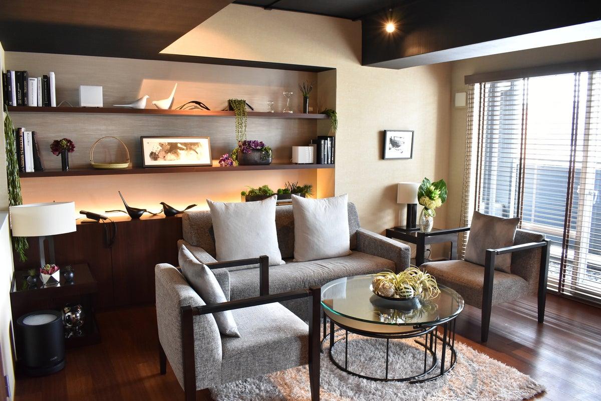 【六本木・西麻布】デザイナーズホテル内の一室 スカイツリーも見渡せる13階の個室ラグジュアリースペース!  の写真