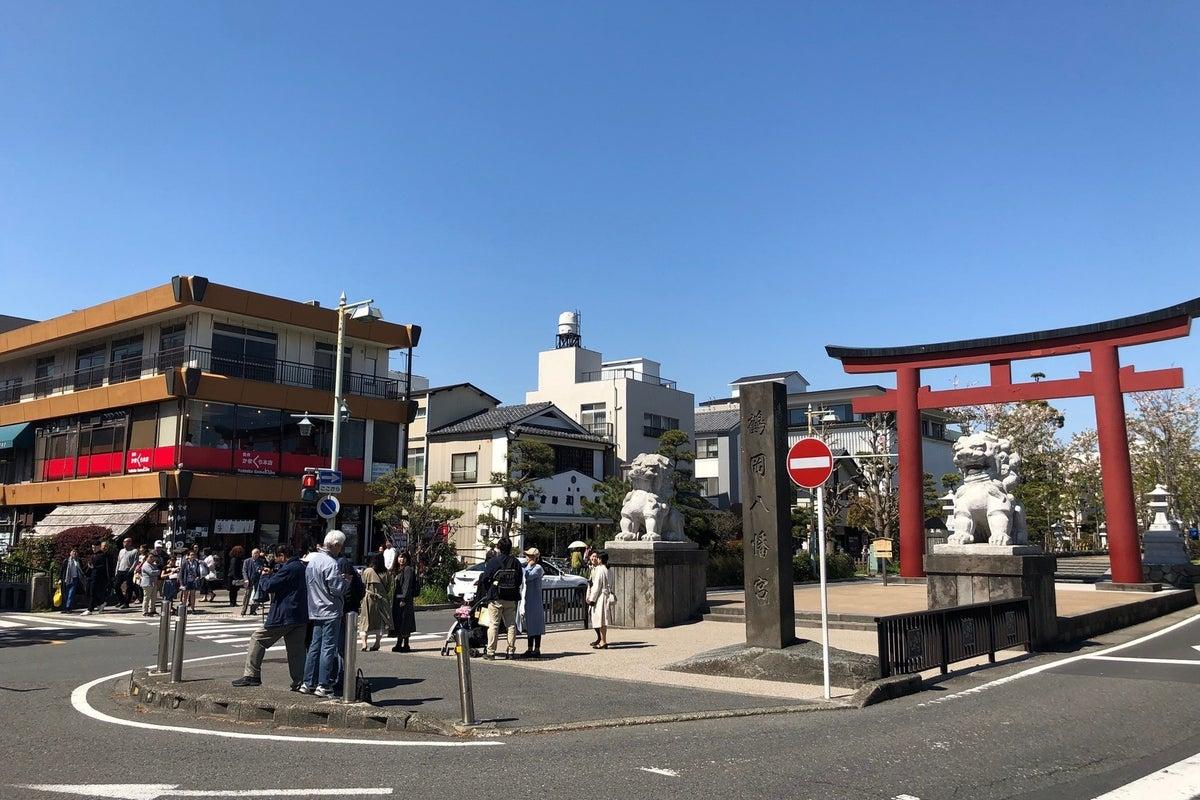 鶴岡八幡宮二の鳥居が目の前の無煙焼肉店♬各種宴会、歓送迎会はもちろん、女子会やママ会にも大人気♬ の写真