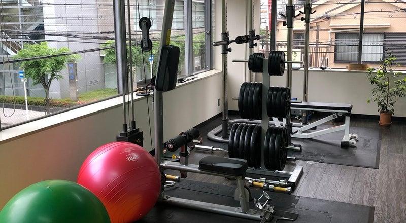 大阪の中心地でプライベートトレーニング