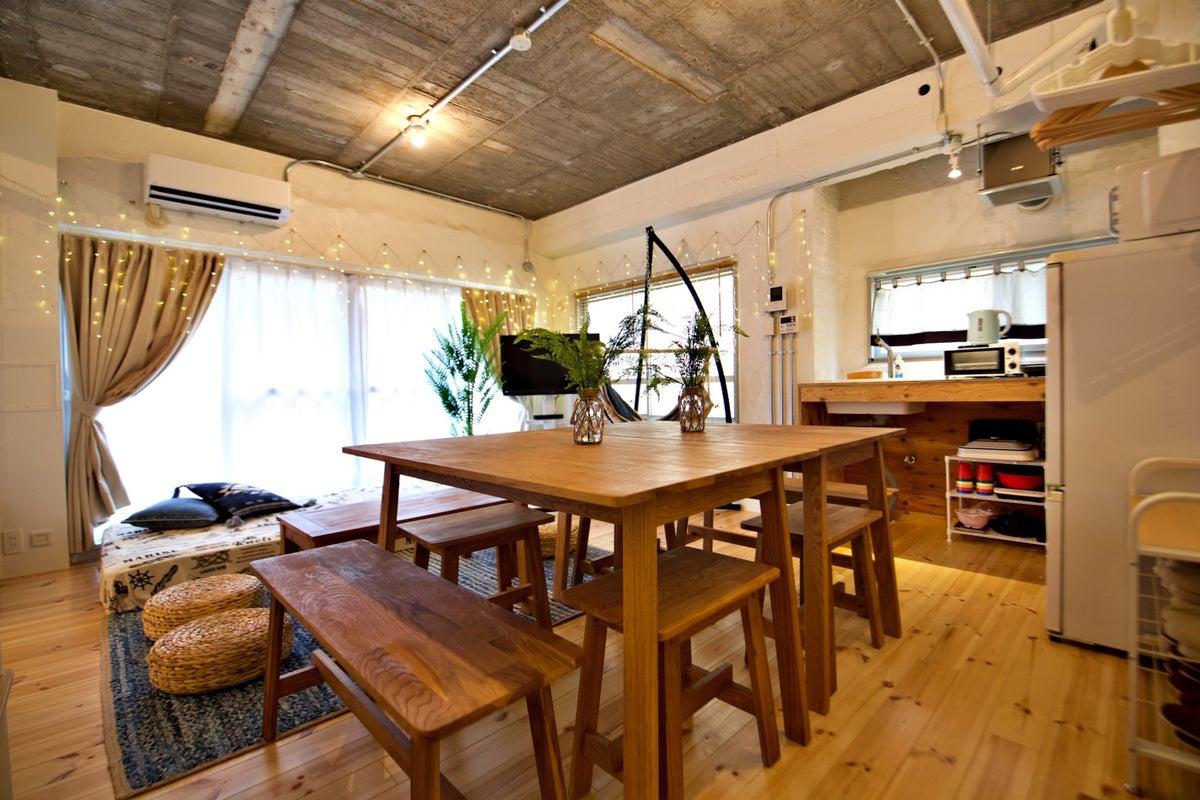 099【シェアスペWest coast新宿】✨西海岸スタイル✨料理教室・ママ会・女子会・パーティ・撮影にも【海の日SALE】 の写真