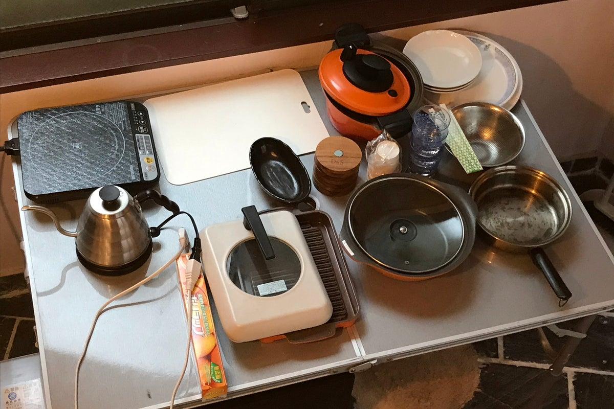 狭いのに広い キッチン付きレンタルスペース  お料理教室にも の写真