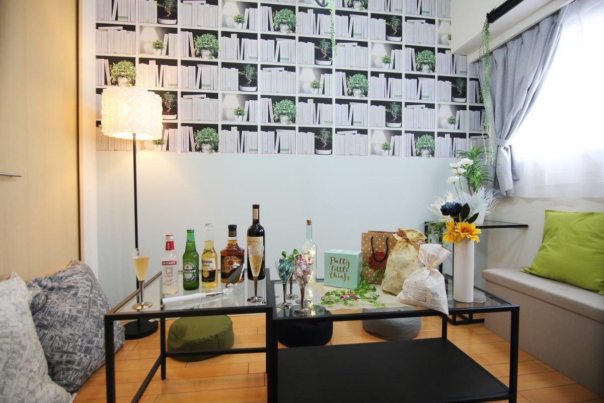 053✨「ここちスペース」リニューアルオープン✨Wi-Fi★キッチン★ゲーム有★パーティグッズ★ドンキすぐ✨女子会/スタジオ の写真