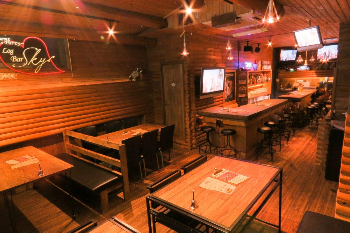 まるで別荘のような徳島唯一のログハウスバーで非日常空間を!キッチン有り の写真