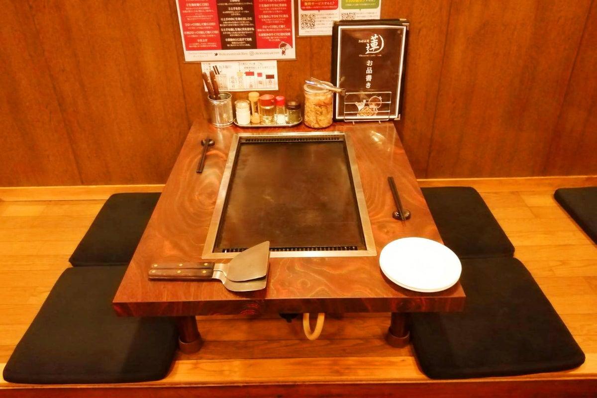 【江古田駅・徒歩2分】最大32名収容の鉄板テーブル有りのお好み焼屋で室内BBQ!鉄板焼きパーティー! の写真
