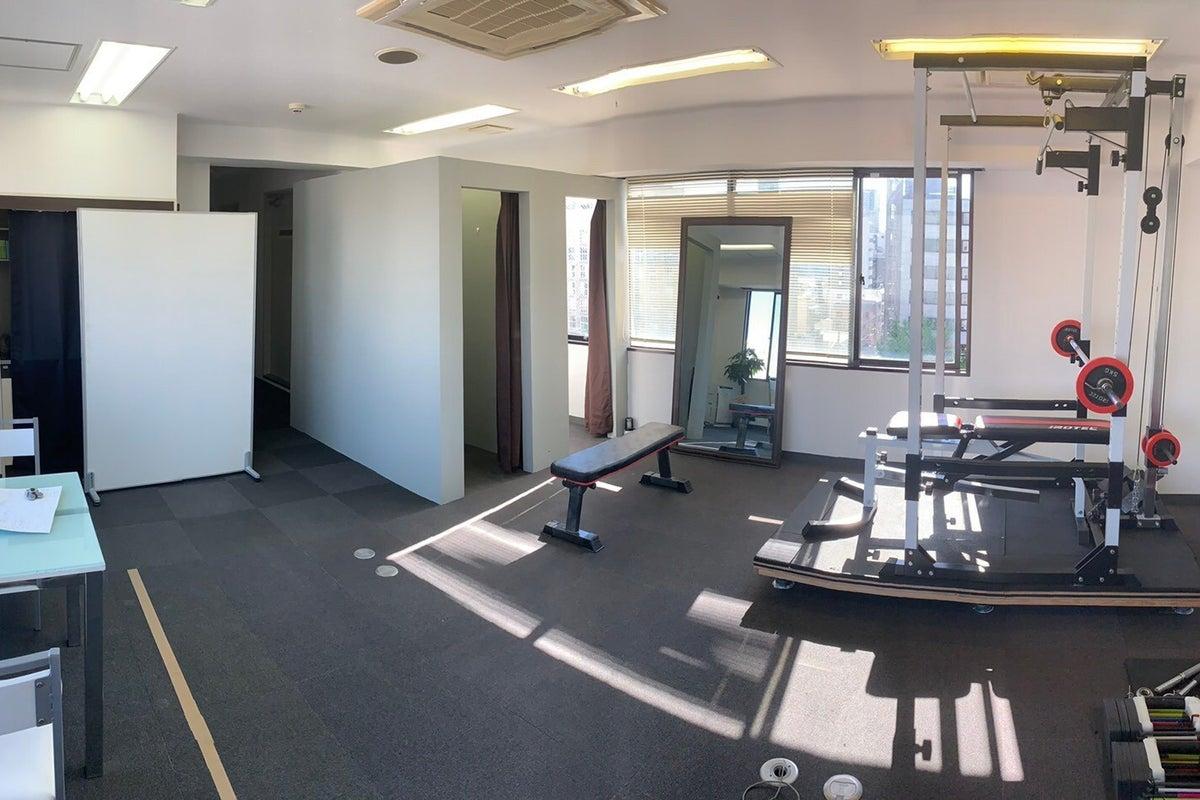 O-en fitness 北堀江(パーソナルトレーニングジム)パーソナル・小人数トレーニング向け の写真