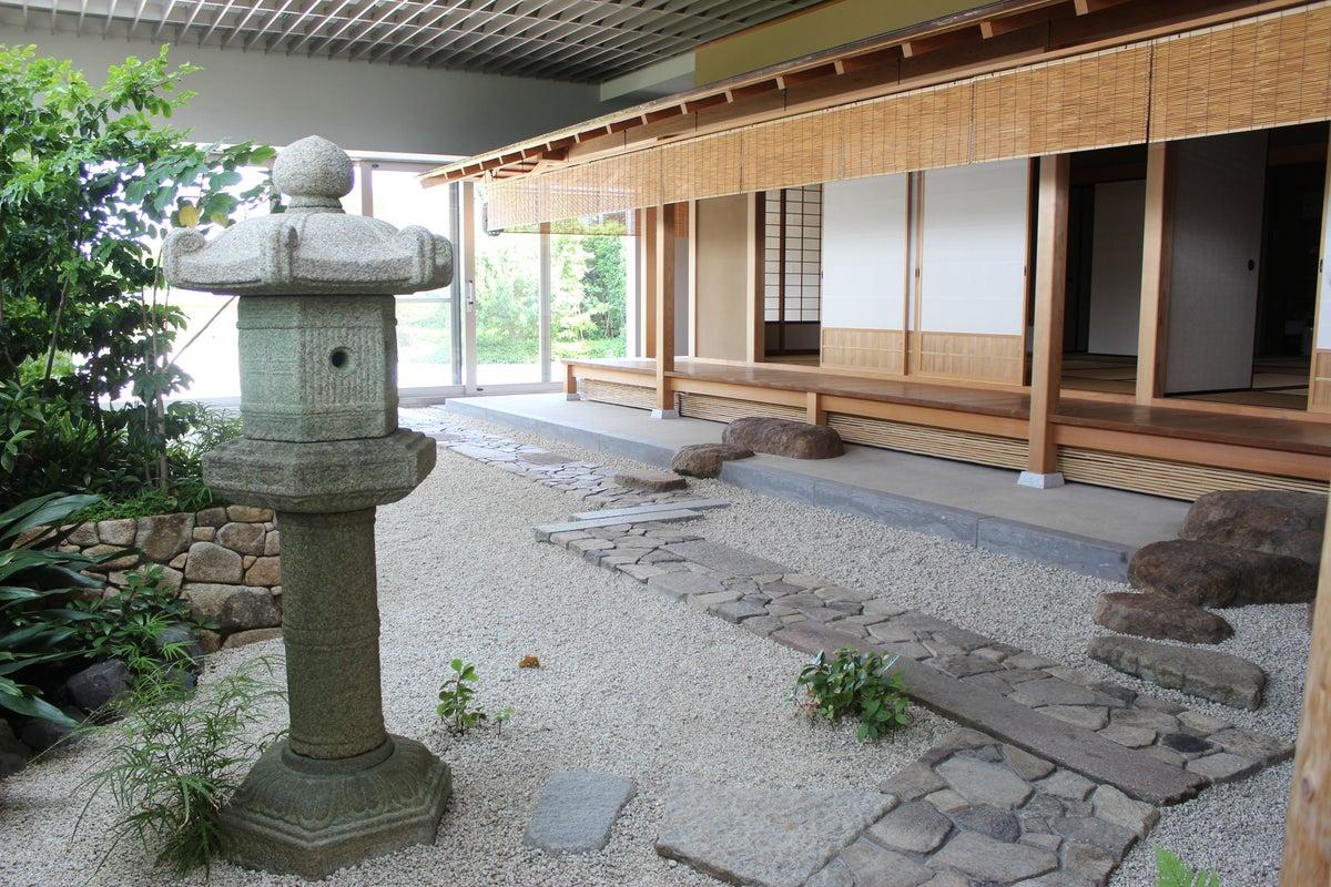 【愛知県】由緒ある「茶室」と大広間から屋上庭園まである、天空の和風空間をお貸しします! の写真