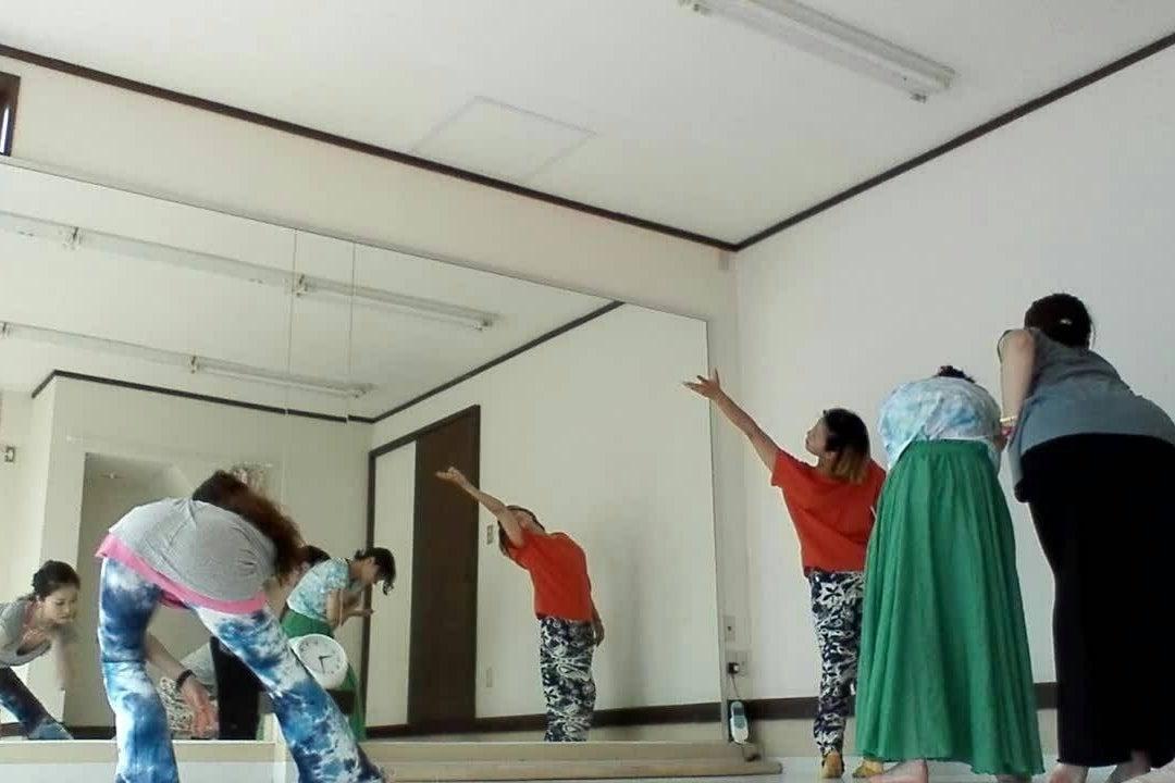 【studiotgk】少人数のダンスレッスンに!駐車場有り・バレエ用リノリウム床・レッスンバー有り の写真