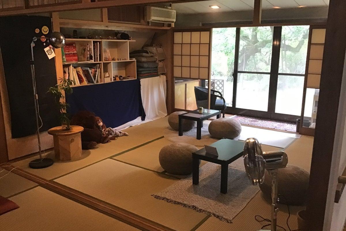 【箕面・桜井・池田】築60年の和室、120㎡のお庭でワークショップ&イベント&撮影をしよう! の写真