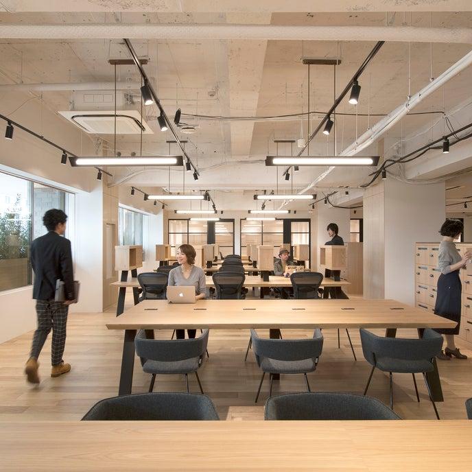 ゆとりのある落ち着いた空間で、集中して仕事に取り組むことができ、利用していただいている方にも好評です。