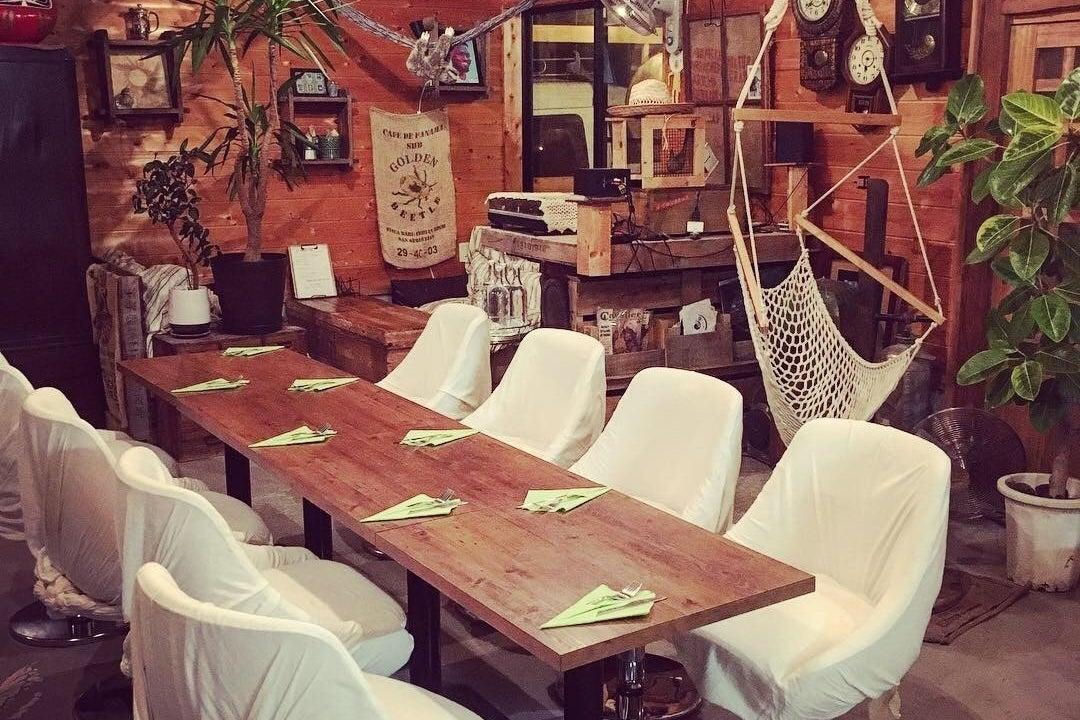 ハンモックがある古民家カフェ! 会議利用はもちろん!ピザ焼き、バーベキューも出来ちゃう! の写真