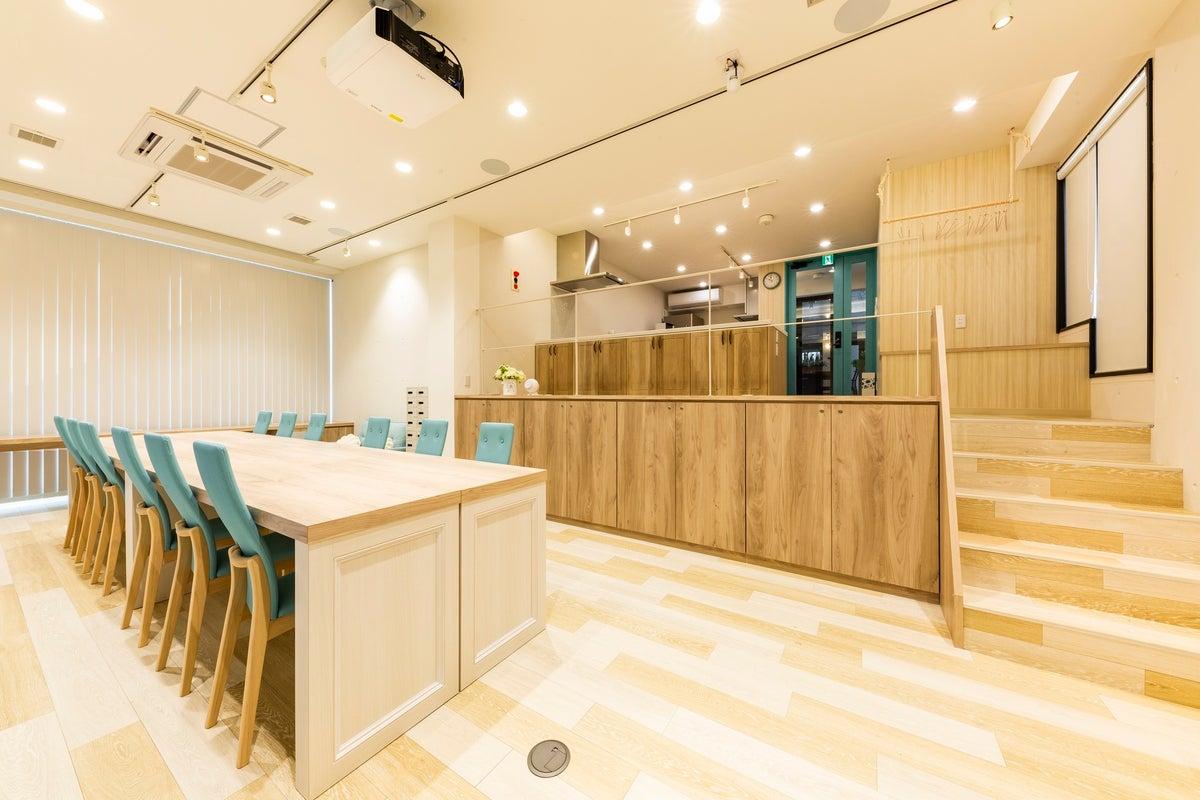 【札幌市北区】キッチンスペース&コミュニティースペース!インテリアにこだわった空間で! の写真