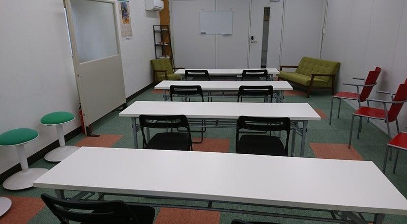 朝霞市役所となりのシェアリングスペース。会議やセミナーなどに