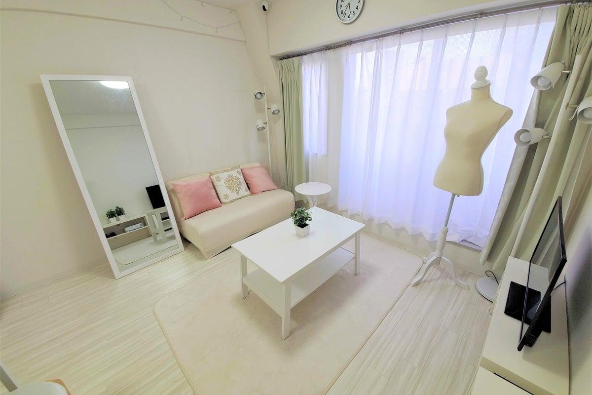 116【スペレン渋谷】真っ白なクリエイティブ空間♪ワークショップ/パーティー/最大8名/プロジェクター/撮影/24h/会議にも◎ の写真