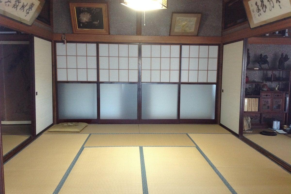 なかよしグループのお茶会、昔ながらの日本家屋の撮影におすすでです!和室10畳 の写真