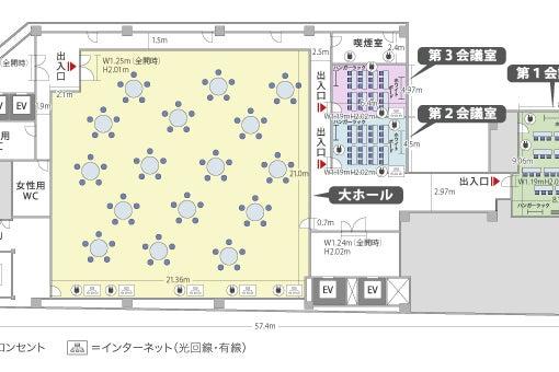 【千葉中央駅徒歩3分】千葉中央ホール 大ホール の写真